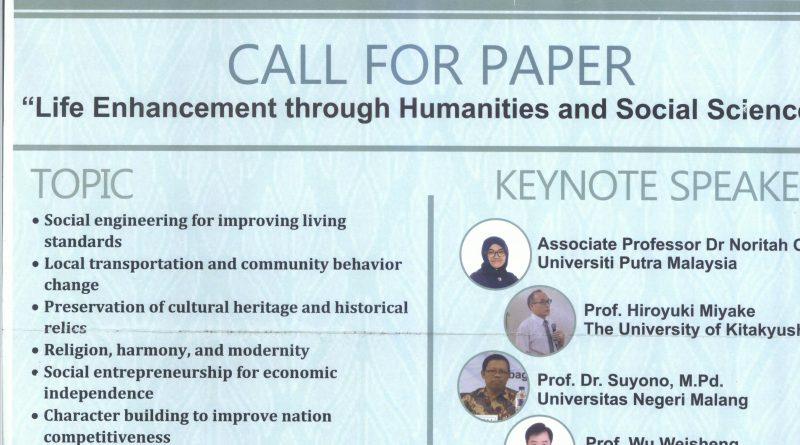 International Conference on Humanities and Social Sciences