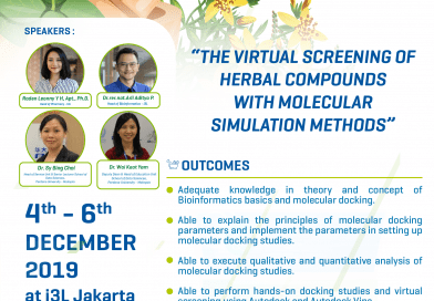 THE VIRTUAL SCREENING OF HERBAL COMPOUNDS WITH MOLECULAR SIMULATION METHODS